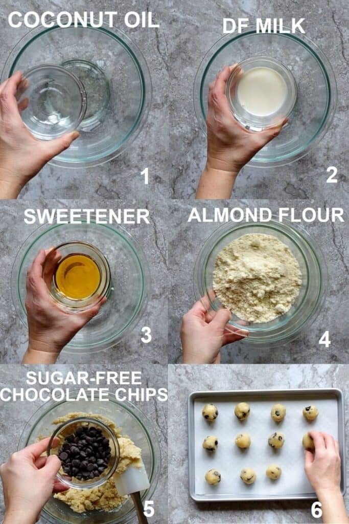 how to make keto cookie dough