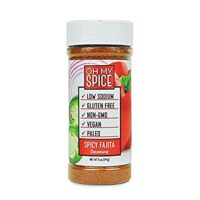 Spicy Fajita Low Sodium Keto Seasoning - Perfect for Anyone Looking for Keto-Friendly, Vegan, and Gluten-Free Seasoning for Their Meals