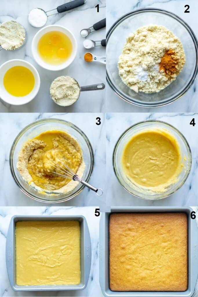 Keto Cornbread Only 7 Ingredients