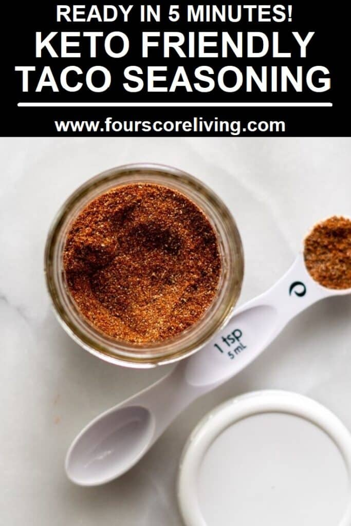 keto taco seasoning pinterest pin