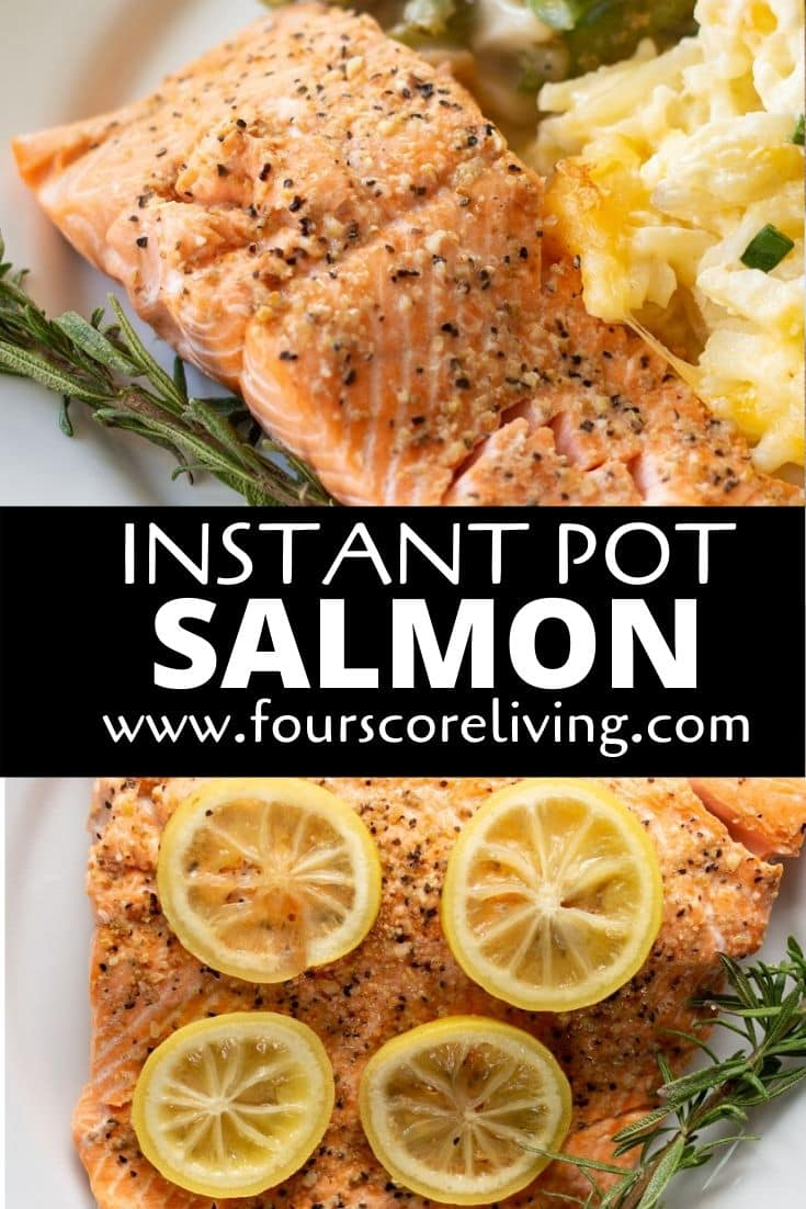 instant pot salmon pinterest pin