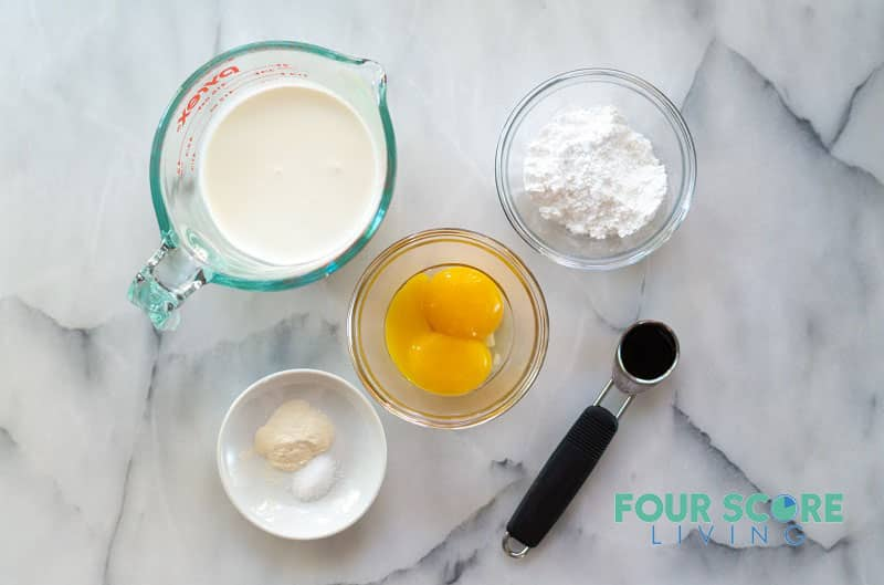 ingredients in keto pudding